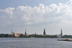Riga landscape Stock Photography