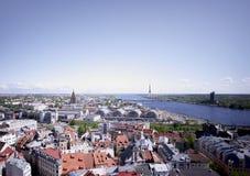 Riga, Latvia Fotografia Stock Libera da Diritti