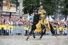 RIGA, LATVIA - AUGUST 21:Dan Naporus from The Devils Horsemen st Stock Photos