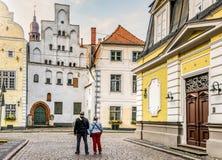 Riga, Latvia-August 21, 2018: Oldest medieval building in Riga, Latvia Royalty Free Stock Photos