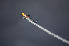 RIGA, LATVIA - AUGUST 20: Pilot Martin Šonka the Winner of the Stock Images