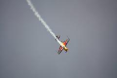 RIGA, LATVIA - AUGUST 20: Pilot Martin Šonka the Winner of the Royalty Free Stock Image