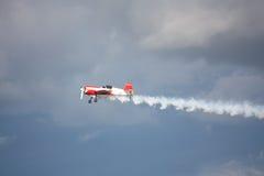 RIGA, LATVIA - AUGUST 20: Pilot from Russia Svetlana Kapanina on Stock Image