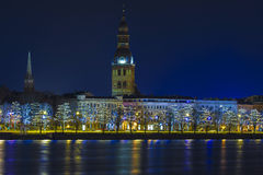 Riga Latvia. Riga the capital of Latvia Royalty Free Stock Photos