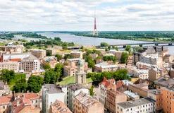 Riga, Latvia, cityscape view Stock Photography