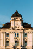 Riga, Latvia. Close Up Facade Of Building Of Riga Regional Court Stock Photo