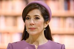 Crown Princess Mary Elizabeth of Denmark royalty free stock photography
