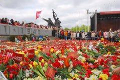 Riga, Latvia, il 9 maggio 2009, Immagini Stock Libere da Diritti