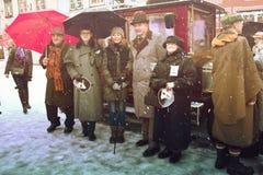RIGA, LATVIA - January 4: Interview the characters of books Cona Stock Photo