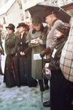 RIGA, LATVIA - January 4: Interview the characters of books Cona Royalty Free Stock Image