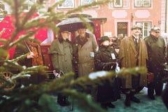 RIGA, LATVIA - January 4: photoshoot with heroes of books Conan Stock Images