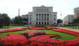 Riga, Latvian National Opera Royalty Free Stock Images