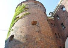 Riga le 22 août 2014 - saupoudrez la tour de Riga en Lettonie Photographie stock