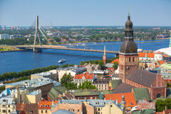 Riga, Letland Royalty-vrije Stock Foto's