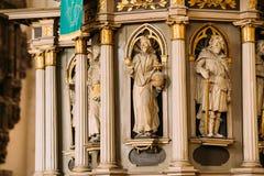 Riga, Letland Binnenland van Riga Dom Dome Cathedral Church Stock Fotografie