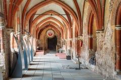 Riga, Letland De Kathedraal Dwarsgalerij van Riga in Koepelkathedraal Royalty-vrije Stock Afbeeldingen