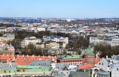 Riga, Letonia, el 27 de marzo de 2018 La torre del polvo Fotografía de archivo libre de regalías
