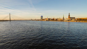 Riga (Letonia) en la primavera Fotografía de archivo libre de regalías