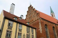 Riga Lettland Royaltyfria Foton