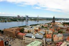 Riga Lettland Arkivbild