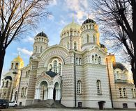 riga lettland Stockfoto