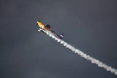 RIGA, LETTLAND - 20. AUGUST: Pilot Martin Šonka der Sieger von Stockbilder