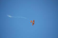 RIGA, LETTLAND - 20. AUGUST: Pilot von Japan Yoshihide Muroya auf S Lizenzfreie Stockfotografie