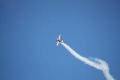 RIGA, LETTLAND - 20. AUGUST: Pilot von Russland Svetlana Kapanina an Lizenzfreie Stockfotos