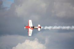 RIGA, LETTLAND - 20. AUGUST: Pilot von Russland Svetlana Kapanina an Lizenzfreies Stockfoto