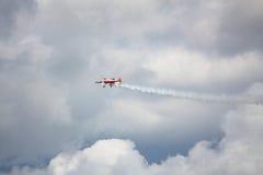 RIGA, LETTLAND - 20. AUGUST: Pilot von Russland Svetlana Kapanina an Lizenzfreie Stockbilder