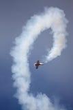 RIGA, LETTLAND - 20. AUGUST: Pilot von Russland Svetlana Kapanina an Stockfoto