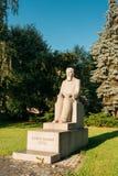 Riga, Lettland Monument zum lettischen Komponisten, Alfred Kalnynsh In C Lizenzfreie Stockfotos