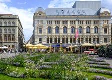 Riga, Lettonia, Europa, il teatro russo Fotografie Stock
