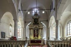 Riga, Lettonia, Europa, la chiesa di St John Immagine Stock Libera da Diritti