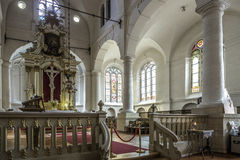 Riga, Lettonia, Europa, la chiesa di St John Fotografia Stock Libera da Diritti