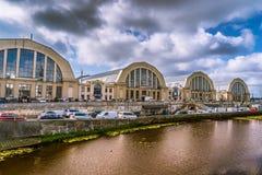 Riga, Lettonia - mercato centrale immagini stock libere da diritti