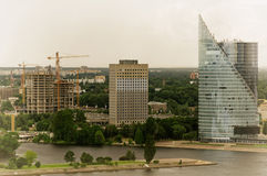 Riga, Lettonie Images stock