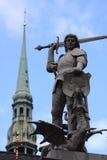 Riga, Lettonie Photo stock