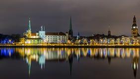 Riga Lettonie Images libres de droits