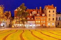 Riga. Livu Square Stock Image