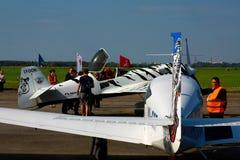Riga-Luftfahrtfestival 2013 Stockbild