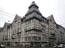 Riga Matisa gata 36 som är modern Arkivfoto