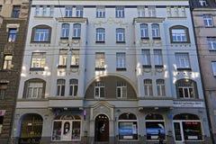 Riga Matisa 38 som är modern Fotografering för Bildbyråer
