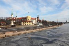 Riga mitt Arkivbilder