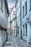 Riga Narrow Street Stock Photos