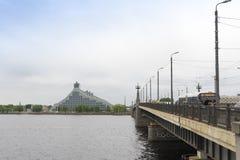 Riga The National Library Stock Photos