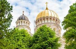 Riga Nativity of Christ Orthodox Cathedral, Latvia Stock Image