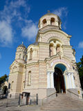 Riga Nativity of Christ Orthodox Cathedral Royalty Free Stock Images