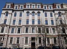Riga, neoclassicism de Elizabetes 31, ecléctico Foto de archivo libre de regalías