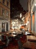 Riga by night Royalty Free Stock Photo